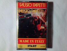 FAUSTO PAPETTI Made in Italy mc RARISSIMA NUOVA LUCIO BATTISTI GINO PAOLI