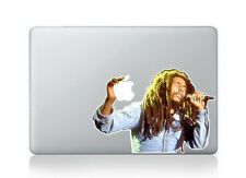 Bob Marley Color Decal Vinyl Cover  Macbook Air Pro Retina 13 Reggae Rasta 420