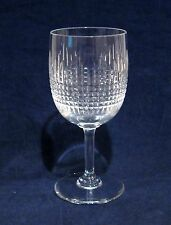 "Baccarat Nancy 6 3/4"" Water Goblet Glass"