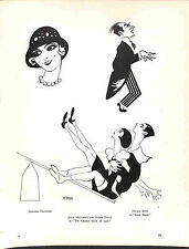 Art Deco.Nerman.1929.Rare.Vintage.Jessie Matthews.Anton Dolin.Nelson Keys