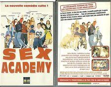 """K7 VIDEO - SEX ACADEMY ( DANS LA LIGNEE D' """" AMERICAN PIE """" ) / PROMOTIONNELLE"""