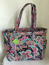 Parisian Paisley Get Carried Away Tote by Vera Bradley. NWT $92