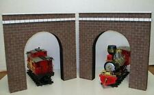 G GAUGE RAILROAD TUNNEL PORTALS / Model G scale Garden Railroads - Set of 2