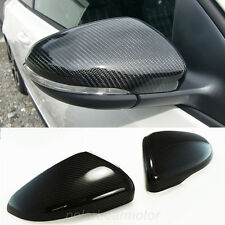 For 2011-2015 VW Jetta CC Real Carbon Fiber Mirror Cover Direct Replacement