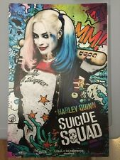 Suicide Squad Harley Quinn AMC Exclusive Movie Poster