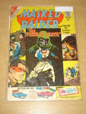 MASKED RAIDER #26 G/VG (3.0) CHARLTON COMICS OCTOBER 1960