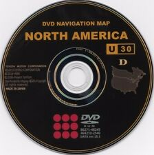 Newest 2016 Gen 4 Lexus Toyota GPS Navigation Map Update DVD Version U30 v 15.1