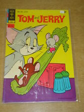 TOM AND JERRY COMICS #264 VG+ (4.5) GOLD KEY COMICS JUNE 1972
