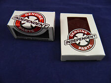"INDEPENDENT 1.5"" PHILLIPS SKATE HARDWARE + INDEPENDENT SKATEBOARD 1/4"" RISER PA"