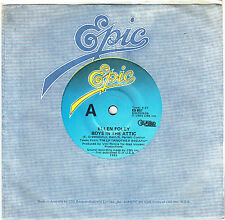 "ELLEN FOLEY - BOYS IN THE ATTIC - 7"" 45 VINYL RECORD - 1983"