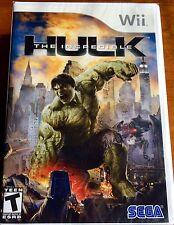 Wii The Incredible Hulk, New