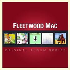 FLEETWOOD MAC 5CD NEW Then Play On/Kiln House/Future Games/Bare Trees/Mystery Me