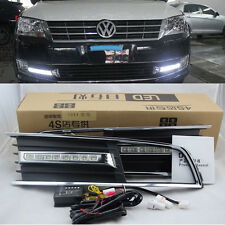 LED Driving Daytime Running Lamp Light For Volkswagen VW Lavida 2012~2013