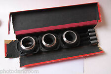 Leica Close Up Kit B00WG-M 50mm A4 A6 A6 Legs and Box - Ernst Leitz Wetzlar E15