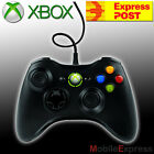 Genuine Microsoft Xbox 360 Wired Controller in Black Windows & XBOX360