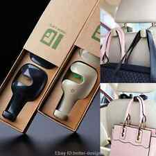 2X Universal Car Auto Back Seat Hook Hanger for Bag Coat Purse Organizer Holder