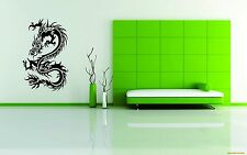Wall Car Decor Vinyl Sticker Japanese Decal Art Chinese Dragon Symbol Religion
