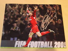 Neil Mellor Signed 12x8 Liverpool FC Photo - Arsenal Goal - Private Signing