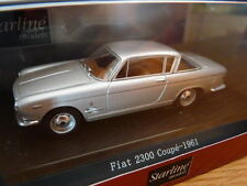 voiture1/43 STARLINE models : FIAT 2300 coupé 1961 gris grey