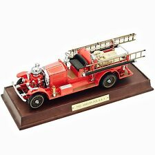Franklin Mint 1922 Ahrens Fox R-K-4 Pumper 1:32 Diecast Model Fire Truck Engine