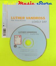 CD Singolo LUTHER VANDROSS Lovely day ft. BUSTA RHYMES 2003 Eu BMG  mc dvd (S11)