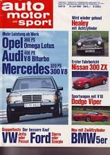 ams 15/89 Healey 3500 Mk IV/BMW Hartge H5 V12/BMW M 5/Pajero 2500 TD Intercooler