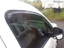 2008 - 2016 Peugeot Partner / Tepee Side Window Wind Rain Sun Deflectors Shield
