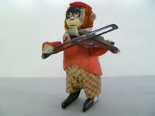 Dancing Figure - Monkey with violin -  WIND UP from Spain
