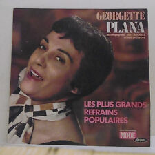 33T Georgette PLANA & AIMABLE Disque LP + GRANDS REFRAINS POPULAIRES -MODE 9297
