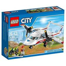 60116 AMBULANCE PLANE lego city town SEALED police NEW EMS airplane legos set
