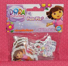 Dora/Boots Cupcake Fun Picks/Pix,Wilton, 24 ct..2113-6301,Multi-Color,