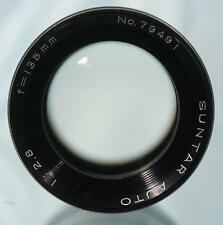 Nice SUNTAR AUTO 135mm f1:2.8 Telephoto Portrait Lens M42 Screw Mount