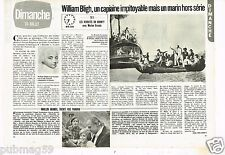 Coupure de presse Clipping 1983 (2 pages) William Bligh capitaine impitoyable