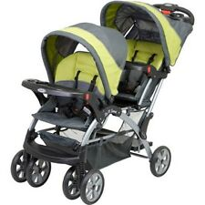 Baby Trend Sit N Stand Double STROLLER, Unisex Baby TWIN STROLLER, Carbon NEW