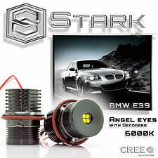 40W High Power Error Free CREE BMW E39 E60 LED Angel Eyes Halo Ring Light Bulbs