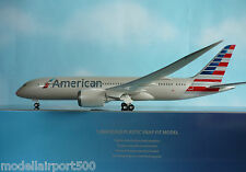 Hogan Wings 1:200 Boeing 787-8  American Airlines LI4975GR + Herpa Wings Katalog
