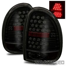 96-00 Caravan/Vovager/Town & Country/98-03 Durango LED Tail Lights Dark Smoke