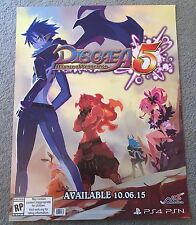 E3 PAX GameStop 2015 Disgaea 5 Alliance of Vengeance Atlus Poster Exclusive