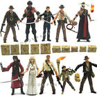 Lot of 10 Indiana Jones Action Figures Loose With Accessory AK88