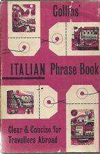 Collins' Italian Phrase Book (Clear & Concise for Travellers Abroad)