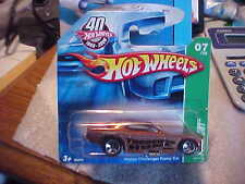 Hot Wheels 2008 Treasure Hunt #7 Dodge Challenger Funny Car on Short Card