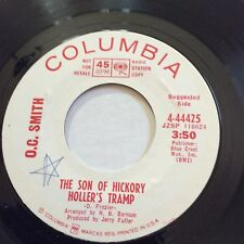 O.C. SMITH- THE BEST MAN/ THE SON OF HICKORY HOLLER'S TRAMP  45 PROMO 4-44425 NM