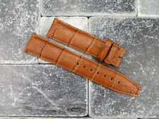 22mm Leather Strap Honey Brown Watch Band Short Small S IWC BIG PILOT Portuguese