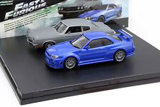 Fast and Furious 2-Car Juego Chevrolet Chevelle SS y Nissan Skyline GT-R 1:43 Gr