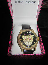 BETSEY JOHNSON WATCH BLING BLING PANTHER