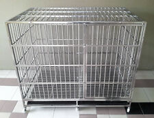 Big Dog Stainless Steel Pet Cage (Peninsular Free Postage)