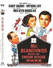Mr.Blandings Builds His Dream House All Region DVD Cary Grant, Myrna Loy, Melvyn