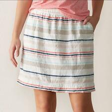 Women's SONOMA Goods for Life Linen-Blend Skirt Plus Size 2X Beige NEW with TAG