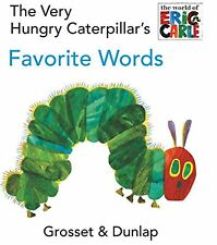 The Very Hungry Caterpillar's Favorite Words by Eric Carle (Board book) NEW