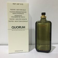 Quorum By Antonio Puig 3.4 Oz EDT Spray Brand New *Tester* Cologne For Men